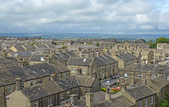 View from the tower of Holy Trinity, Queensbury
