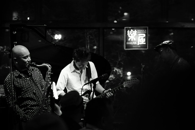 Soul on Fire! live at Rakuya, Tokyo, 19 Jul 2015. 543