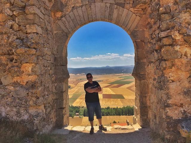 Sele en el castillo de Gormaz (Soria)