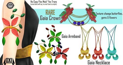 OXI - Gaia Set @ Gacha Garden
