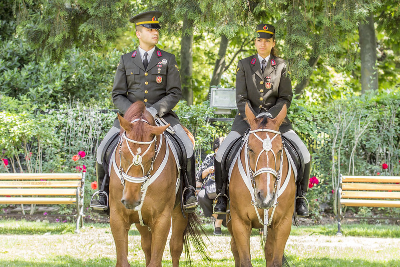 Horse Police in Topkapi Palace