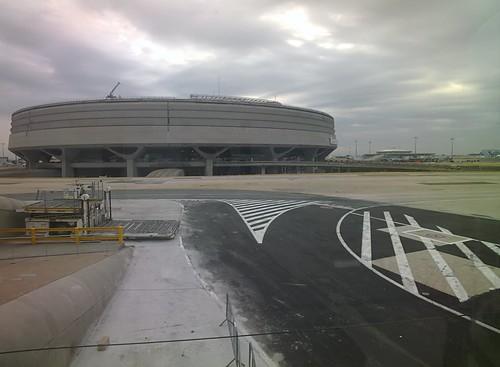 Paris Charles de Gaulle Airport #throughglass