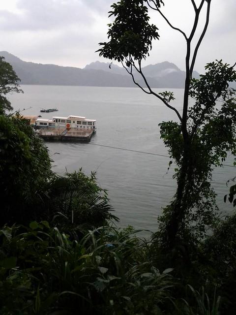 16076搭船遊石門水庫,遊薑母島。