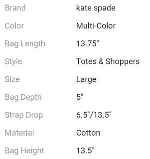 KS Tote details