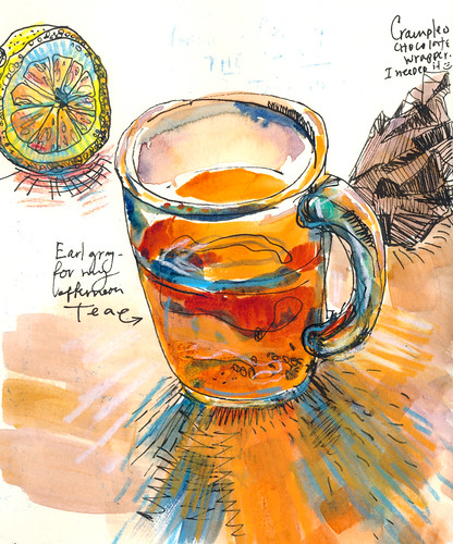 Sketchbook #90 - Tea