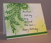 PB Birthday Card