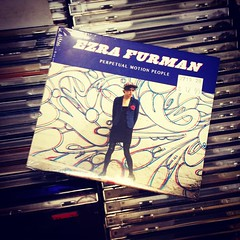 Picked up the new @EzraFurmanandtheBFs album at Lou's... If you see me with my iPod, there is a 100% chance I'm listening to this guy! #ezrafurman #lousrecords #newmusic #ezrafurmanandtheboyfriends