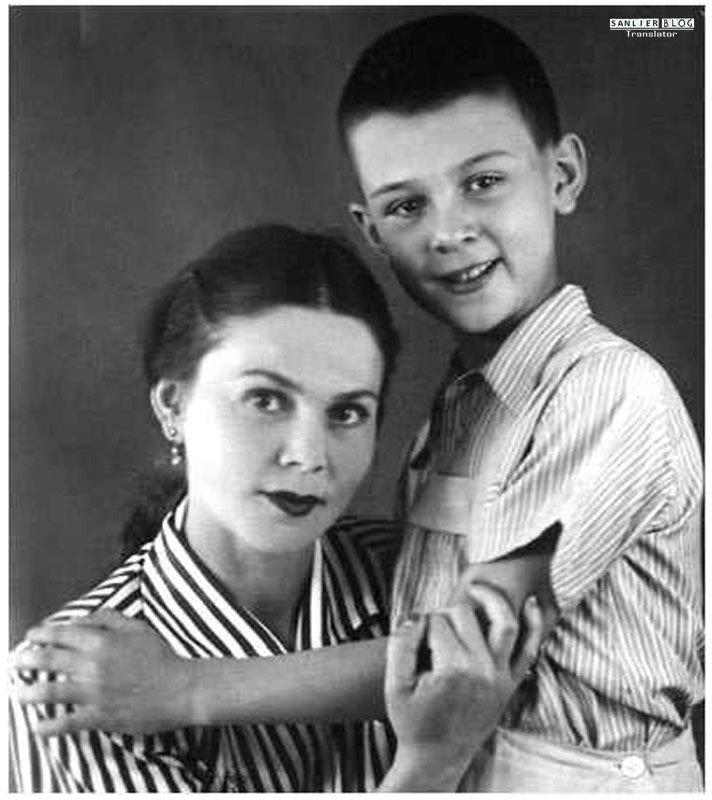 苏联名人家庭照片24
