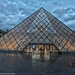The Pyramide at the Louvre in HDR