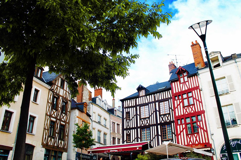 Drawing Dreaming - guia de visita de Orléans, Loire -  Place du Châtelet