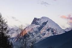 Snowy Mountain walk