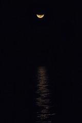 moonset at sea