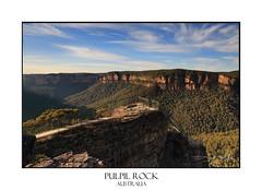 Pulpit /rock Lookout, ;Blue Mountains