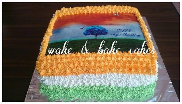Cake by Rohini Punjabi of Rohini's Wake & Bake Cakes.