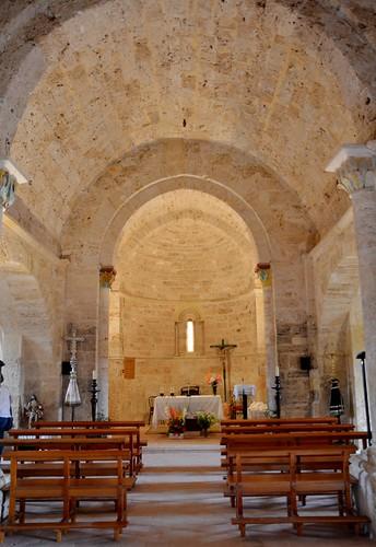 Abajas (Burgos). Iglesia de Nuestra Señora. Interior