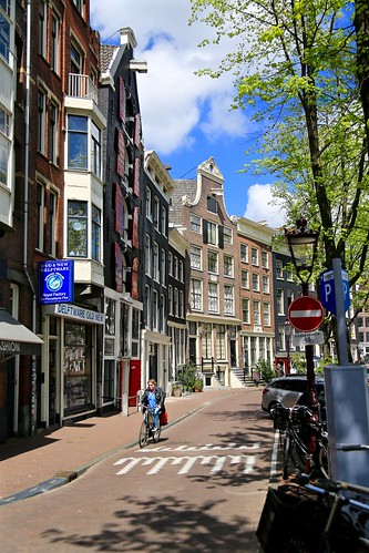 Streets of Amsterdam.
