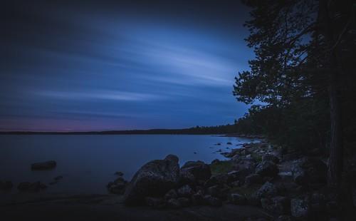 sunset clouds evening nikon rocks le nikkor jyrki d600 1635mm salmi mussalo
