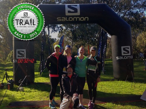 Westerfoldians represent! Salomon Trail Series 2015 - Race 1