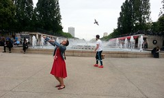 Pelin Ozge Dancing like a bird for OLEÑKA