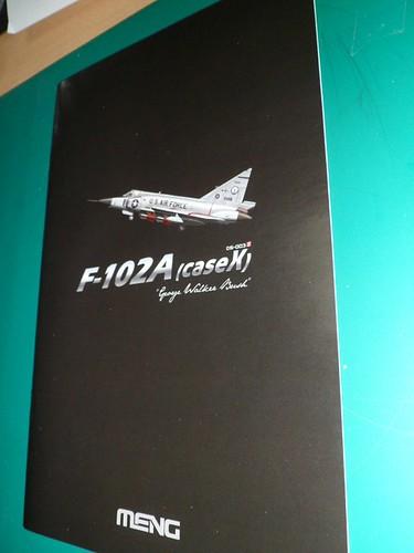Ouvre-boîte Convair F-102A Delta Dart Case X [Meng 1/72] 19059174299_95df646866