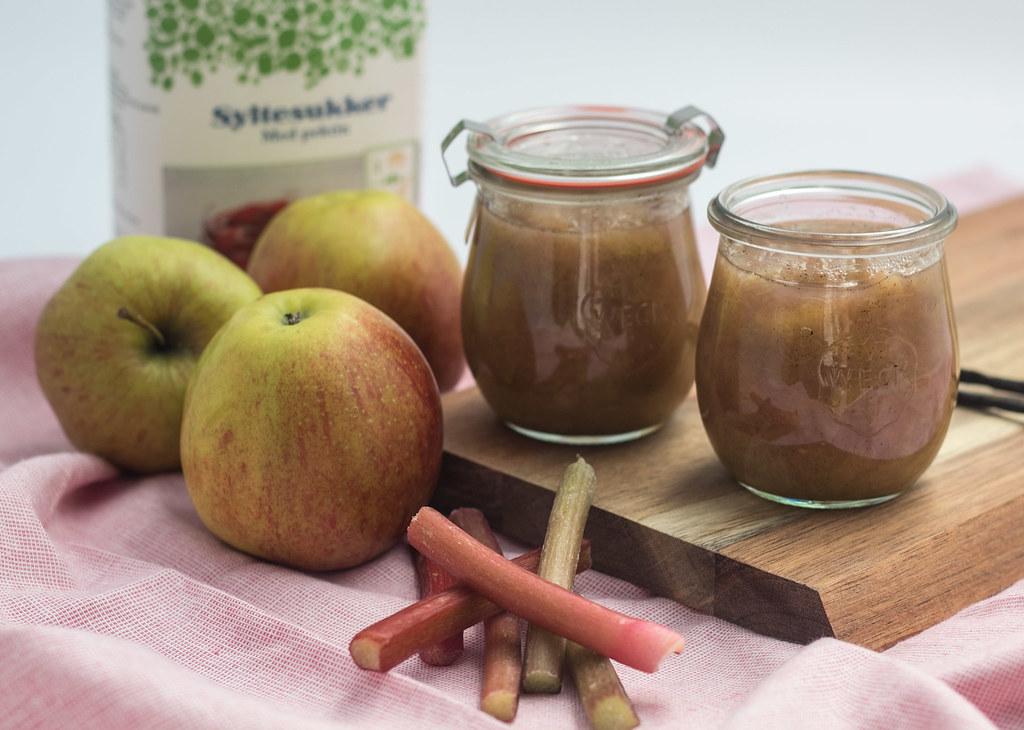 Æble-rabarber marmelade (9)