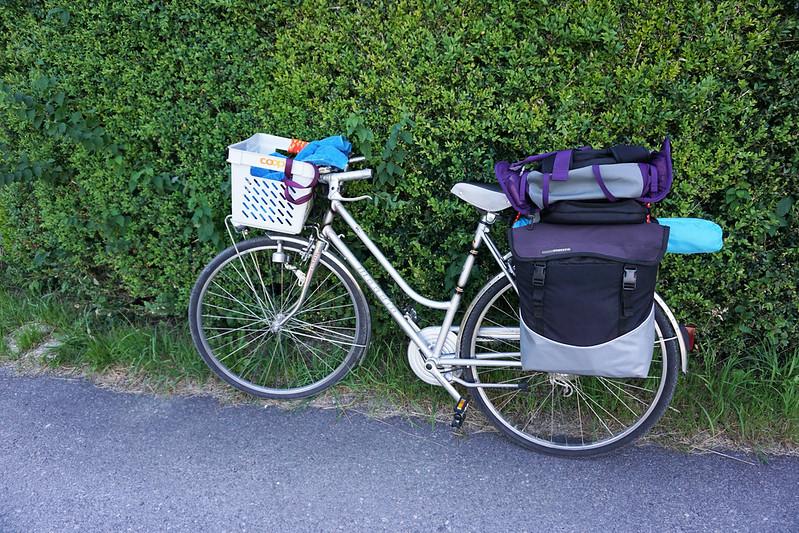 fully packed bike