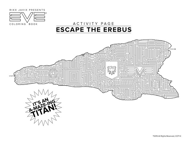 Eve Coloring Book: Titan Maze