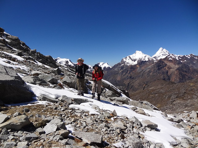 Highlights of the Cordillera Blanca Traverse: our first stretch of now, en route to the Cho Cho Pass