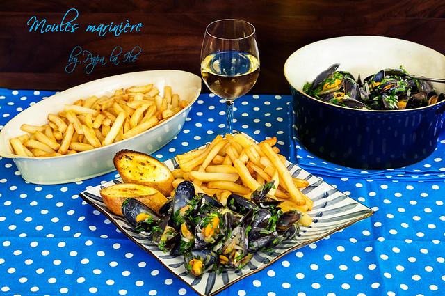 Moules marinière - Midii in sos de vin (1)