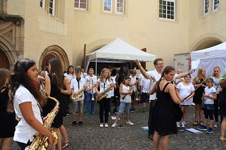letzte Probe der Junior Big Band