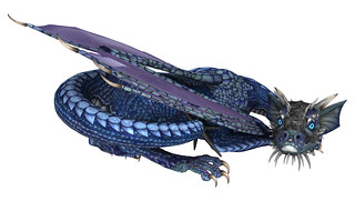 Blue Dragonlet, Magnus