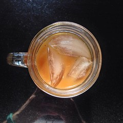 Its Sunday morning and the temp is supposed to be over 95 degrees... Home made #coldbrew #coffee for the win.