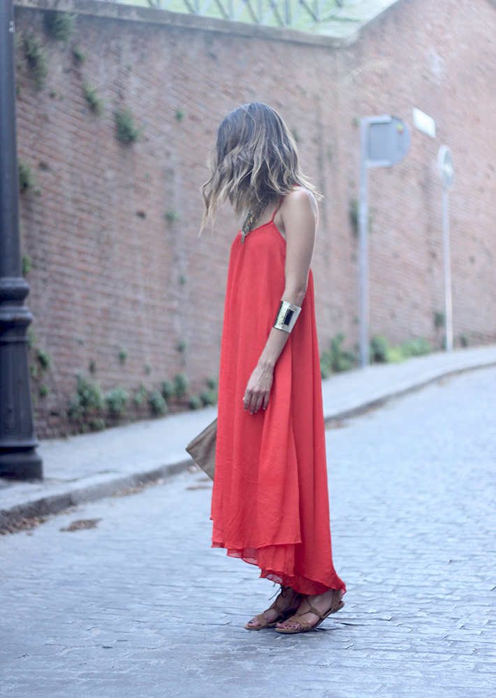 Red Maxi Dress02