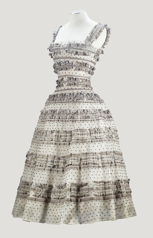Christian Dior Haute Couture, automne-hiver 1957-1958 - Lot 37