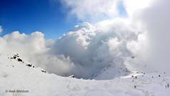 روز برفی کوههای تهران Tehran in a snowy day