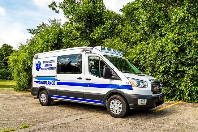 New Jersey ambulance