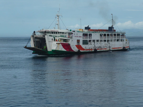 philippines ferry, Panasonic DMC-S2