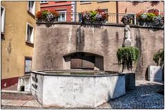 Laufenburg - Mittlerer Brunnen an der Halde