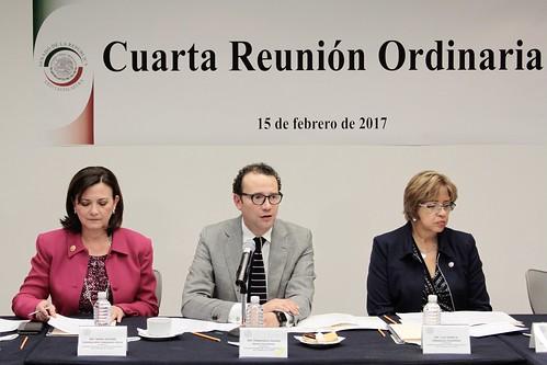 El miércoles 15 de febrero de 2017 tuvo lugar la Cuarta Reunión Ordinaria de la Comisión Bicamaral del Sistema de Bibliotecas del Congreso de la Unión en el Senado de la República.