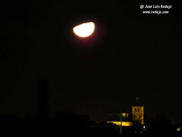 Puesta de la luna en cuarto creciente en La Guardia (Toledo)   Blog ...
