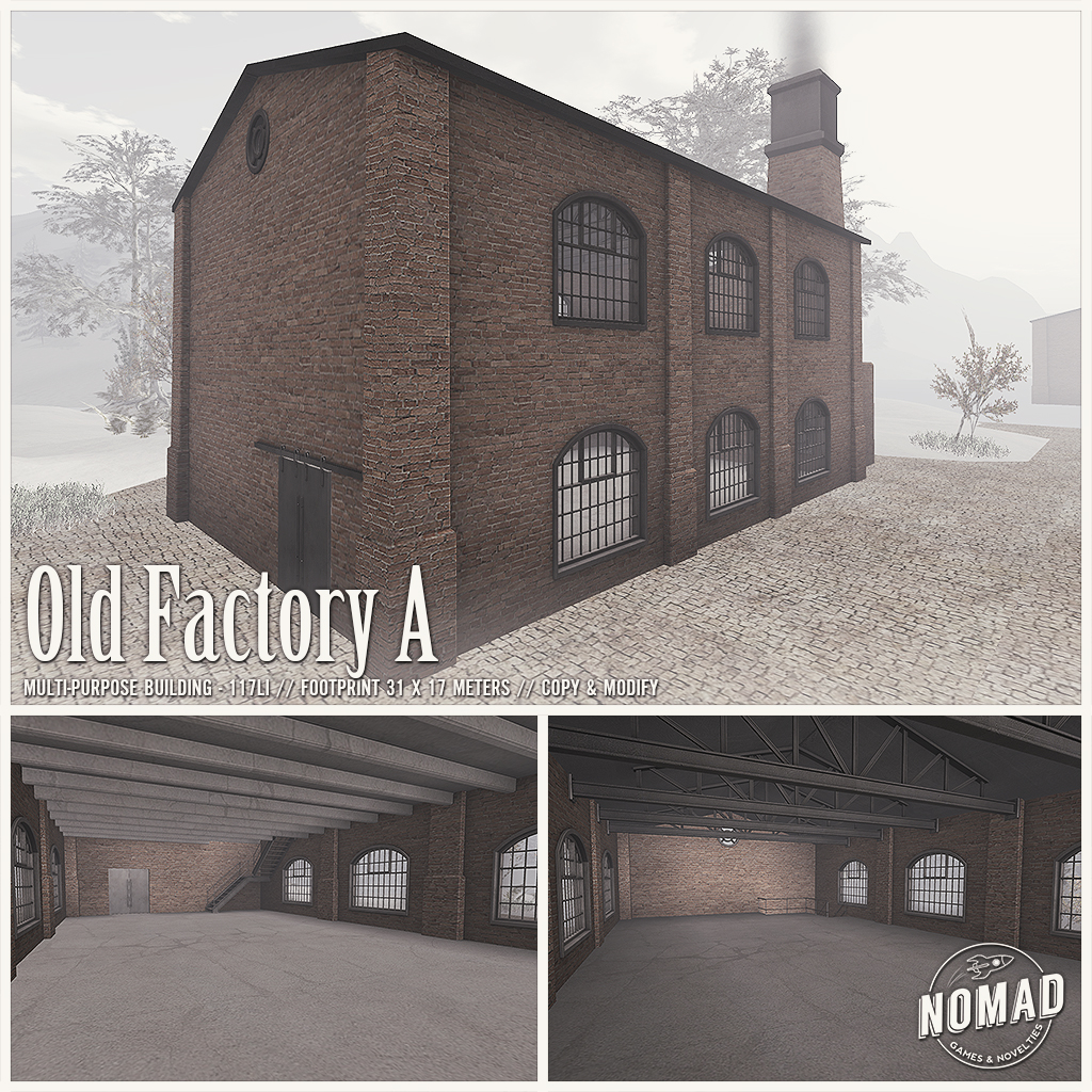 NOMAD // Old Factory A - SecondLifeHub.com