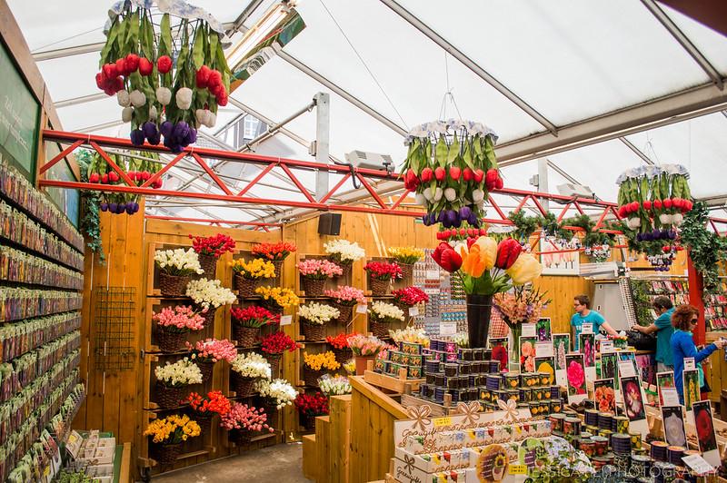 Amsterdam Bloemenmarkt Flower Market