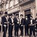 Victorian gentlemen in a club. Club de caballeros victorianos. X Ruta Literaria del Romanticismo. JUNIO 2015. ALMENDRALEJO. by Anacrónicos Recreación Histórica