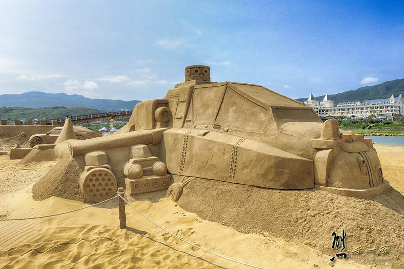 福隆海水浴場福隆國際沙雕藝術季