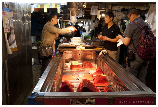 Tokio - Lonja Tsukiji