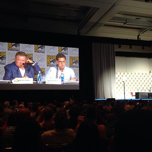 Shatner reading as Kirk. Not as nice of seats as last time but still fun.
