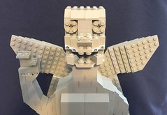Lego Pazuzu head and hand front