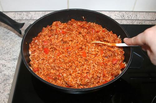 34 - Reis & Sauce vermengen / Mix rice & sauce