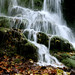 Waterfall at Gémenos by dubus regis