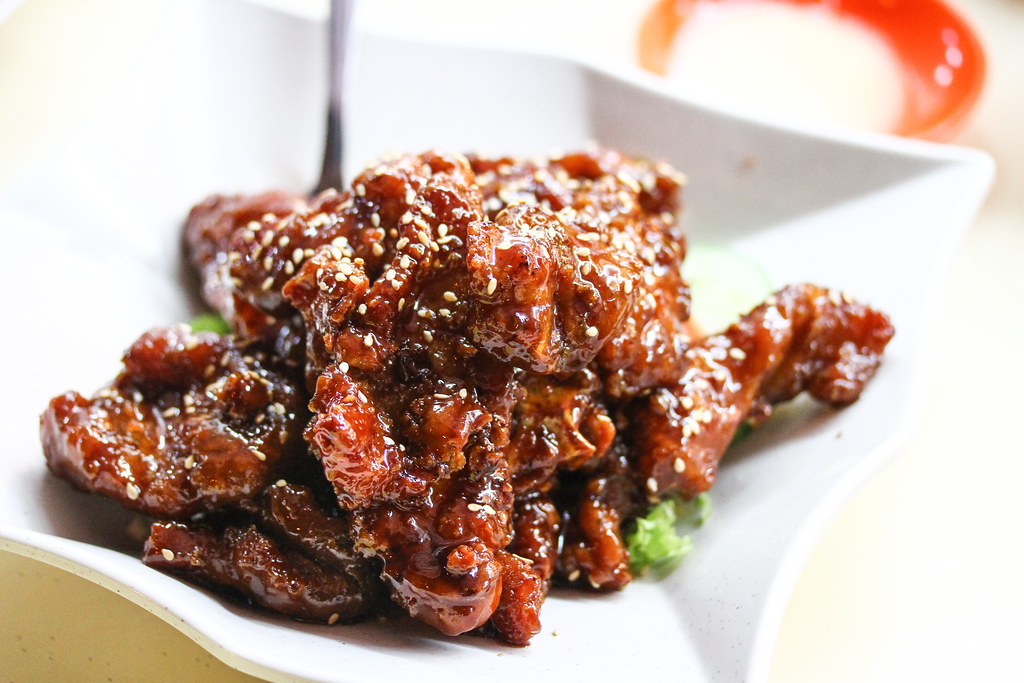 Keng Eng Kee Seafood's Coffee Pork Ribs